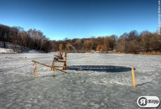 Открытие купального сезона в первые дни весны