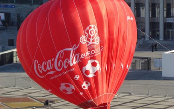 В цетре Киева появился воздушный шар