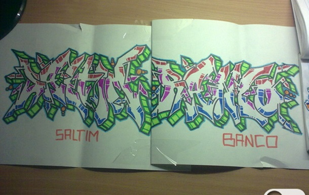 wildstyle and 3d style 4 saltimbanco