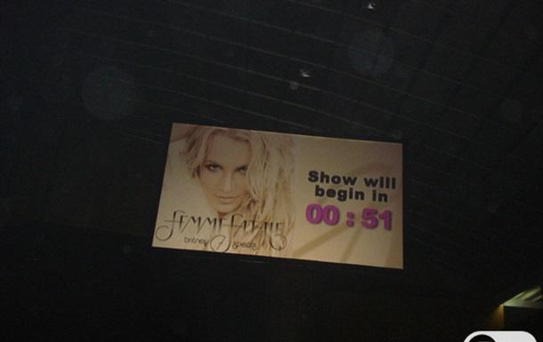 Бритни Спирс впервые выступила в Киеве