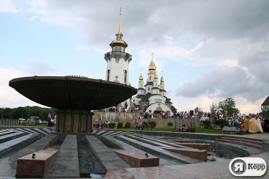 Фонтан-рулетку с Майдана Независимости установили в Буках