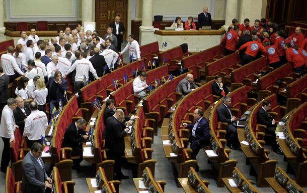 Оппозиция - отставка - Азаров - Сегодня оппозиция попытается зарегистрировать проект постановления об отставке Азарова
