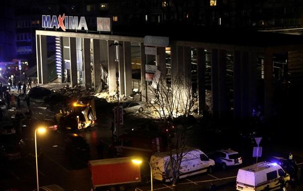 Число жертв обрушения ТЦ в Риге возросло до 32 человек
