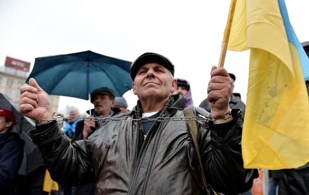Надежда умирает последней. Фоторепортаж со второго дня Евромайдана