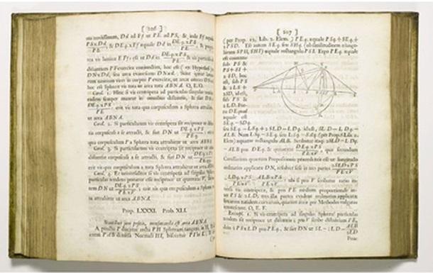 Sotheby s выставил на аукцион первое издание Начал Ньютона