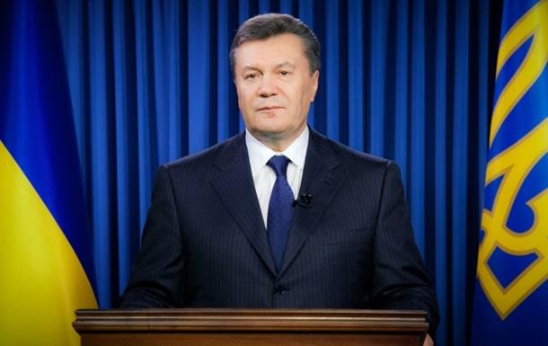 Янукович обратился к украинцам: У нас никто не украдет мечту о европейской Украине