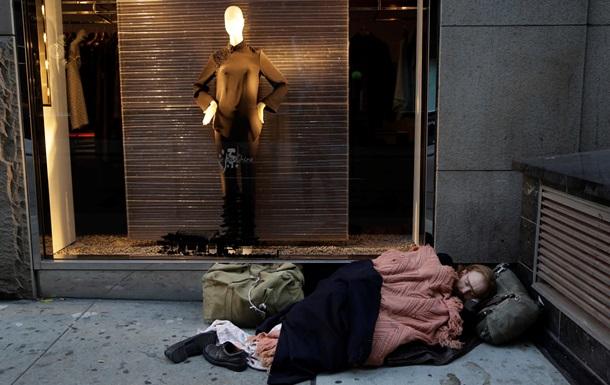 Активисты: В Нью-Йорке выросло число голодающих и бездомных