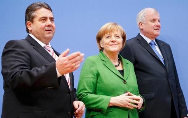 Партия Меркель договорилась о коалиции с социал-демократами