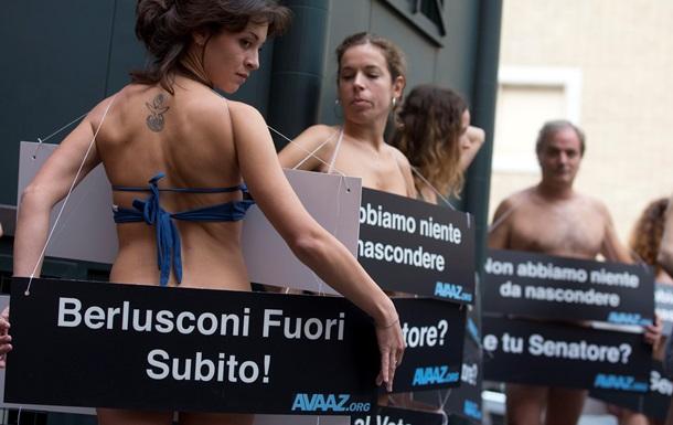 Берлускони исключили из сената Италии