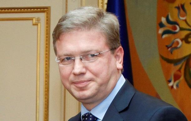 Украины - выбор - Россия - ЕС - Фюле - Для Украины не стоит выбор между Россией и ЕС - Фюле