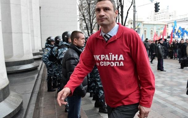Кличко заявил, что Рада будет заблокирована со следующей недели