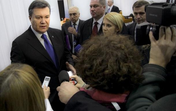 Янукович о СА с Евросоюзом: Что это за соглашение, когда нас берут и  наклоняют