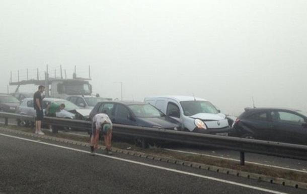 В Бельгии из-за тумана столкнулись десятки автомобилей, есть жертвы