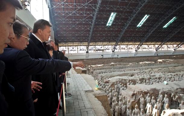 Янукович в Китае заинтересовался воссозданием Великого шелкового пути