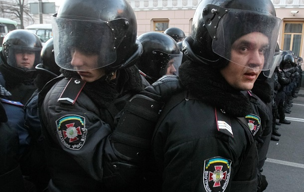 Милиция перекрыла ряд улиц в центре Киева