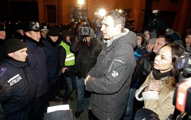 Кличко намерен встретиться с Януковичем