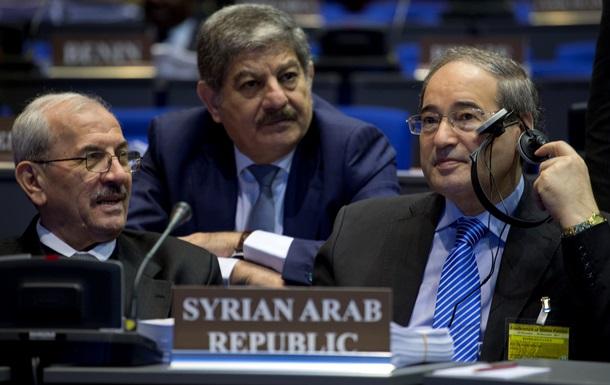 ОЗХО подтвердила уничтожение всех неснаряженных боеприпасов сирийского химоружия