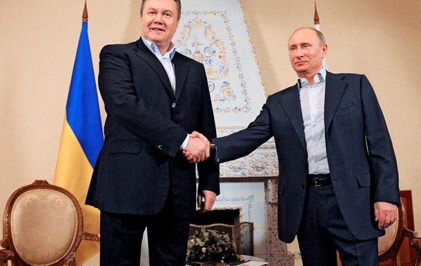 В АП подтвердили, что Янукович и Путин в Сочи никаких документов не подписывали