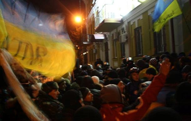 Отряд самообороны задержал капитана госохраны в правительственном квартале Киева
