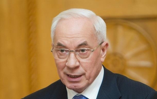 Повне погашення боргів із соцвиплат через протести відкладено до кінця року - Азаров