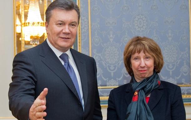 Эштон: Янукович пообещал в течение 24 часов найти выход из ситуации