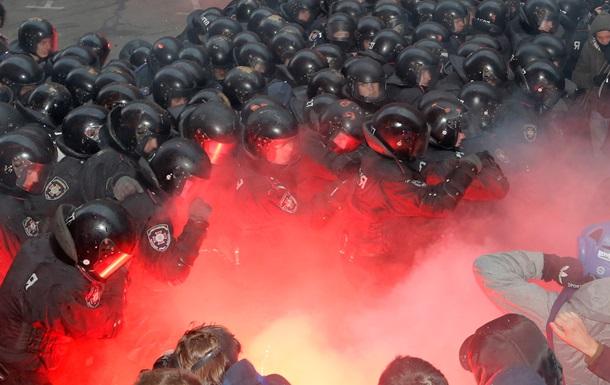 Суд оштрафовал и отпустил еще одного задержанного за участие в беспорядках на Банковой