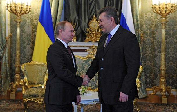 Янукович назвал сегодняшнюю встречу с Путиным стратегической для развития экономических отношений