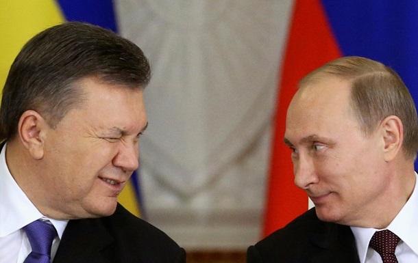 Янукович с Путиным - фото - Кремль - Москва - Янукович - Путин