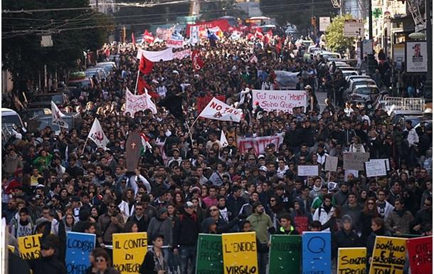 Европу захлестнула волна гражданских протестов против политики ЕС