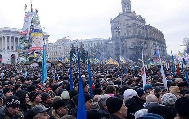 На Майдане Незалежности началось четвертое Народное вече