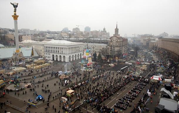 Евромайдан объявил Крещатик свободной от транспорта зоной