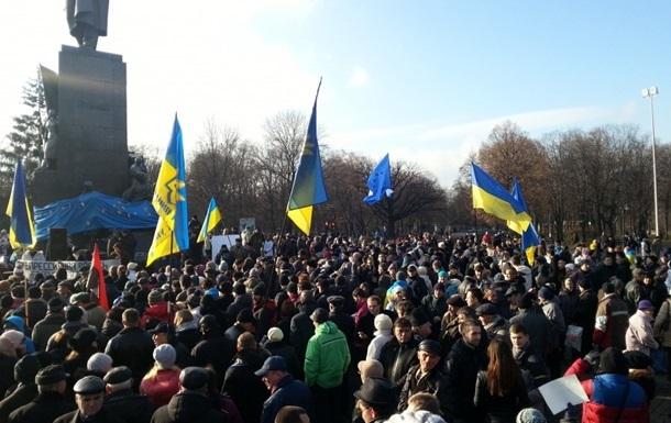 Харьковская Батькивщина требует обеспечить безопасность активистов местного Евромайдана