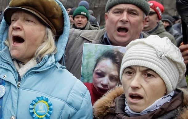 Половина украинцев не поддерживает Евромайдан - опрос R&B Group