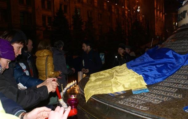 Теракты в Волгограде. На Майдане зажгли свечи в память о погибших