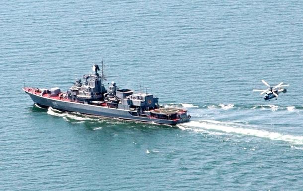 Украинский экипаж Гетмана Сагайдачного встретит Новый год в Индийском океане
