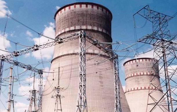Из-за дефекта на Ривненской АЭС отключен энергоблок №4