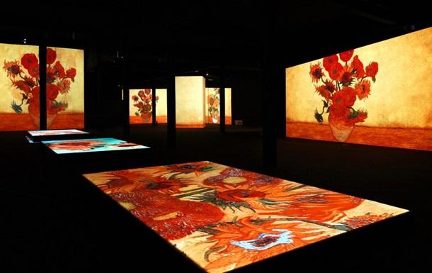 В Москве открывается выставка с  живыми картинами  Ван Гога