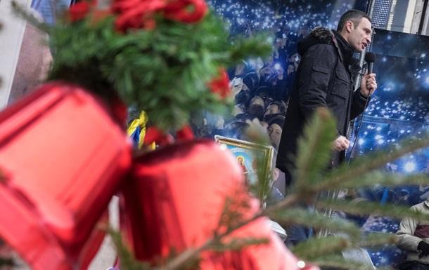 После Рождества оппозиция обещает остановить транспорт