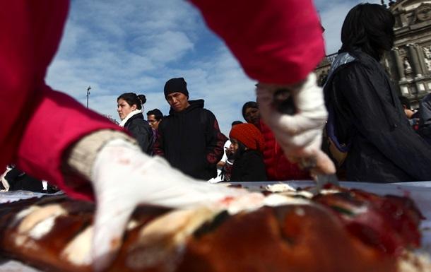 Мексиканская наркомафия накормила людей выпечкой в день Королей-Магов