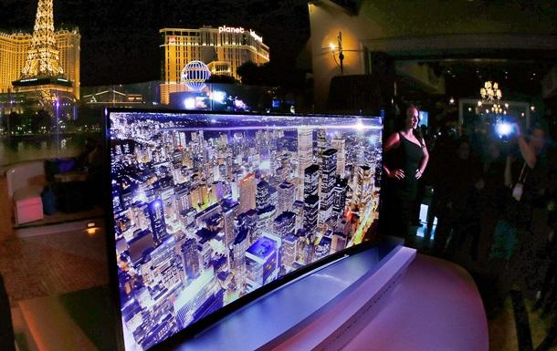 Samsung представила телевизоры с изогнутым экраном