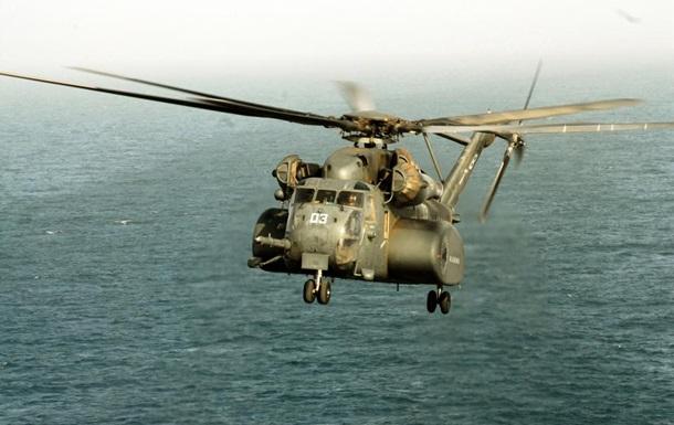 В США разбился вертолет ВМС – погибли два члена экипажа