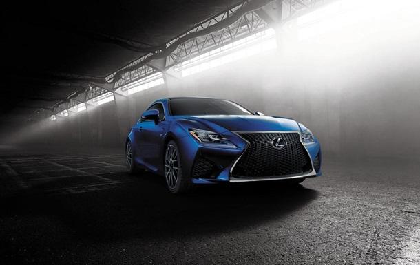 Lexus показал новое мощное купе