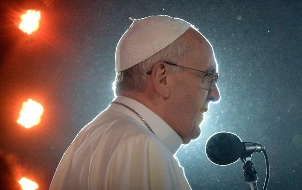 Папа Римский выразил поддержку  любимому украинскому народу