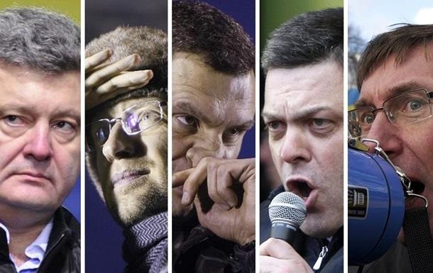 Росбалт: Украинская оппозиция в поисках лидера