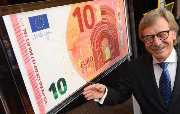 Евроцентробанк презентовал новые 10 евро