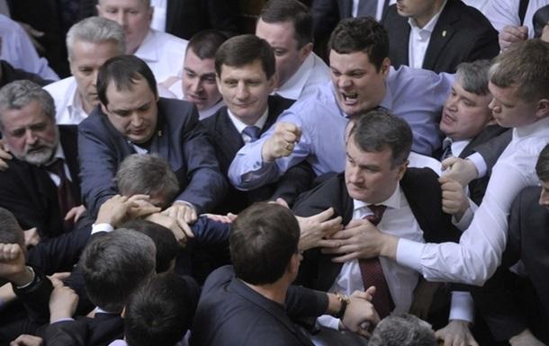Партия регионов пообещала: силового разблокирования Верховной Рады не будет