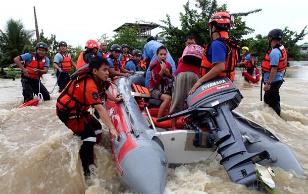 Растет число жертв наводнения на Филиппинах