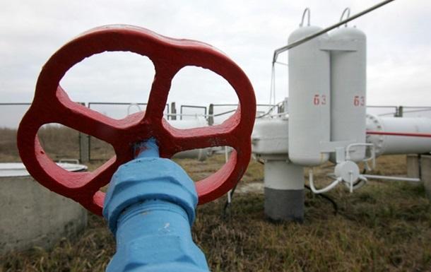 Запасы газа в украинских подземных хранилищах за год сократились на 5% - Укртрансгаз