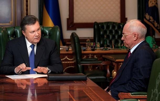 Янукович поручил Азарову наладить работу с парламентом, чтобы быстрее принять Госбюджет-2014