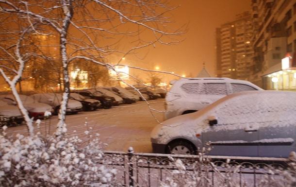 В Киевскую область идут  метели и морозы - Укргидрометцентр